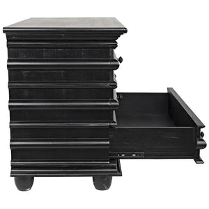 Noir Ascona Small Hand Rubbed Black Chest