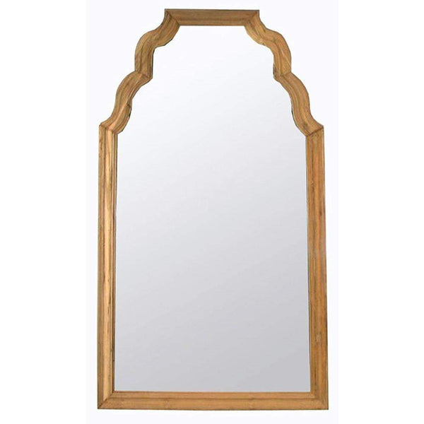 Noir Reclaimed Teak Floor Mirror