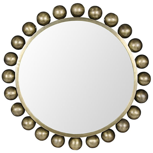 Noir Cooper Metal with Brass Mirror