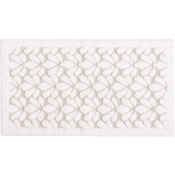 Graccioza Grace Bath Rug - White | Alchemy Fine Home