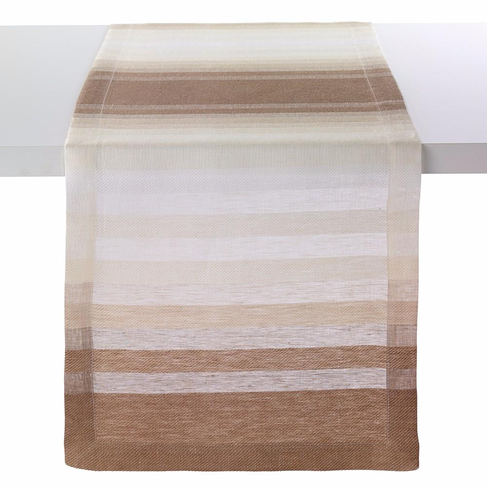 Bodrum Bodrum Gradient Stripe Table Runner - Beige GSP8132