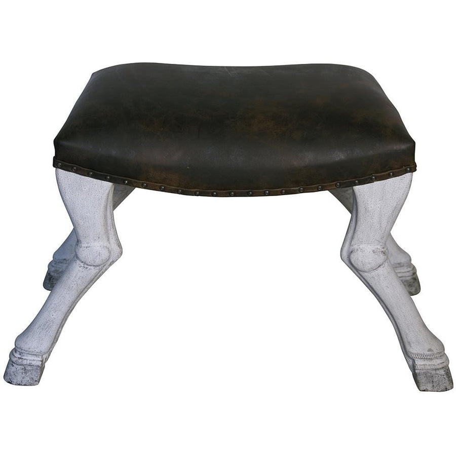 Noir Claw Leg Saddle Stool
