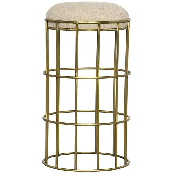 Noir Ryley Brass Counter Stool