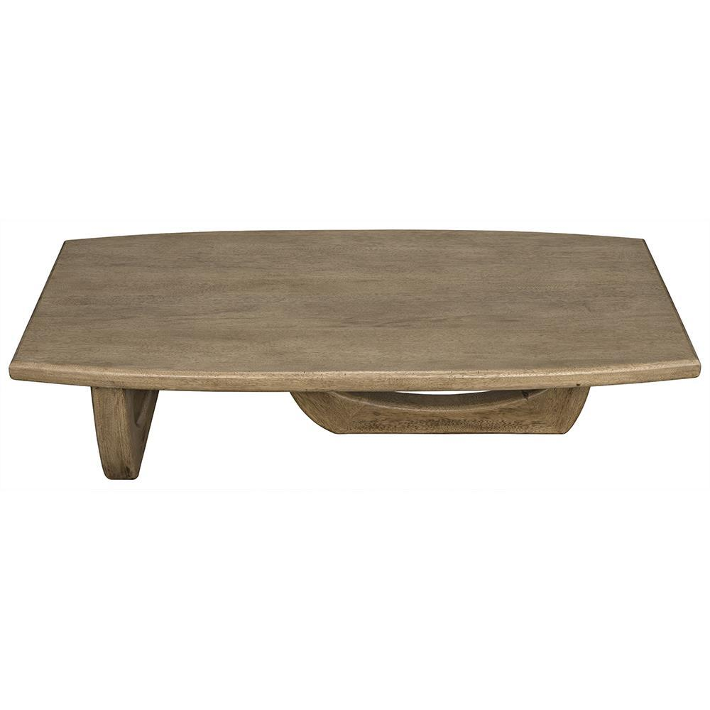 Noir Noir Douglas Walnut Coffee Table GTAB1019BW