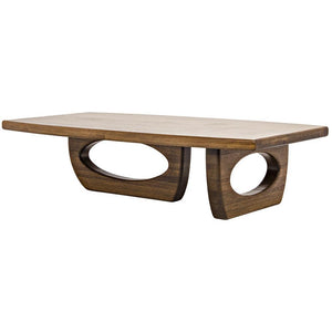 Noir Douglas Dark Walnut Coffee Table