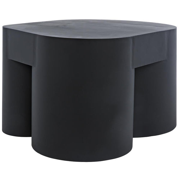 Noir Bain Black Metal Coffee Table