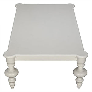 Noir Graff Solid White Coffee Table