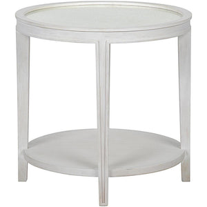 Noir Imperial Side Table White