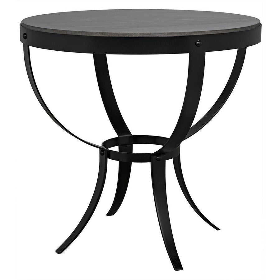 Noir Byron Marble Side Table