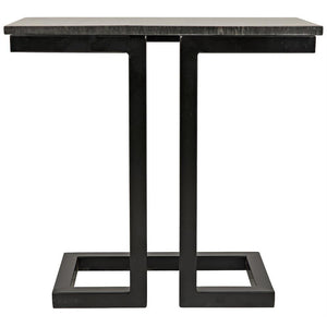 Noir Alonzo Marble Side Table