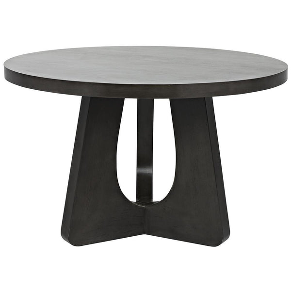 "Noir Nobuko 48"" Pale Dining Table"