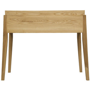 Noir Hiller Elm Side Table