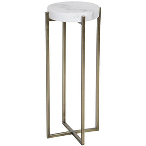 Noir Soho Brass Side Table