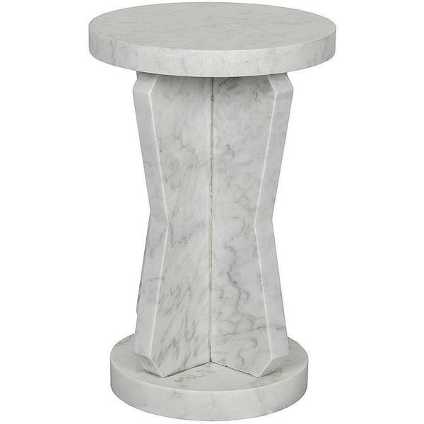 Noir Ingram Marble Side Table