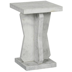 Noir Vasco Marble Side Table