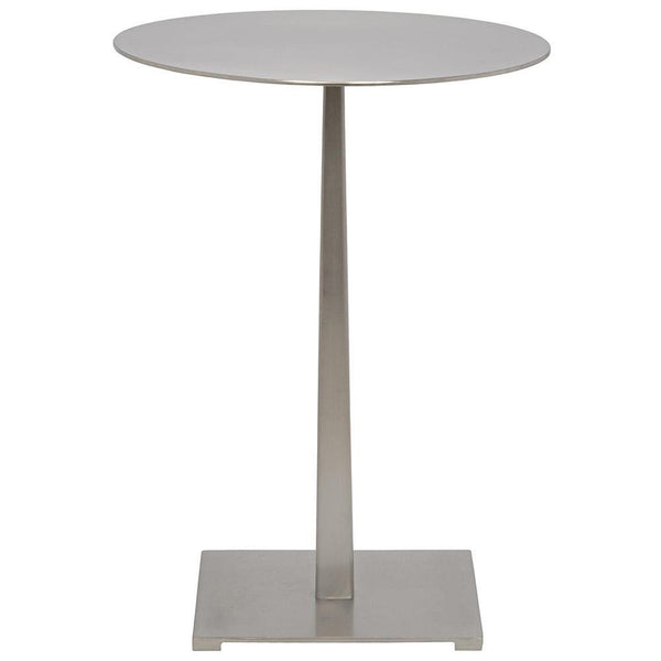 Noir Stiletto Aged Brass Side Table