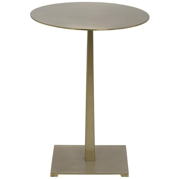 Noir Stiletto Brass Side Table