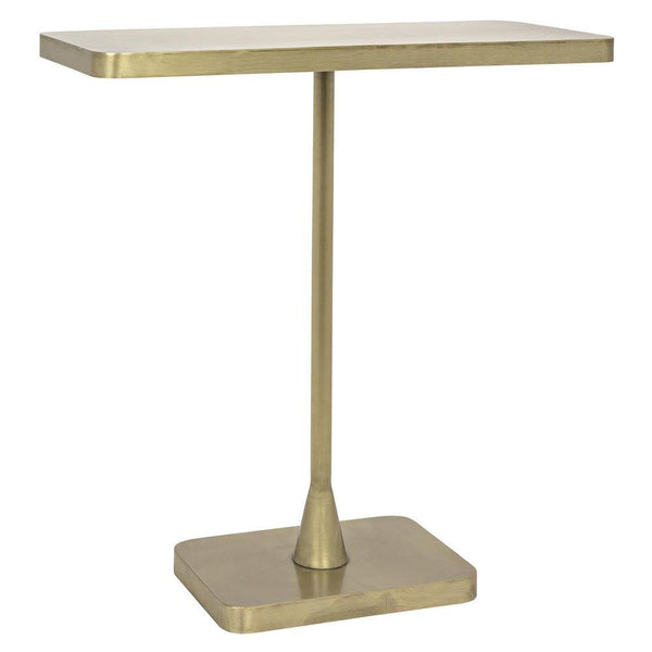 Noir Hild Brass Side Table