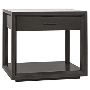 Noir Antony Pale Side Table