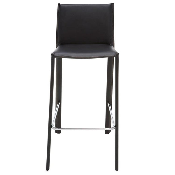 Nuevo Bridget Bar Stool - Black | Alchemy Fine Home