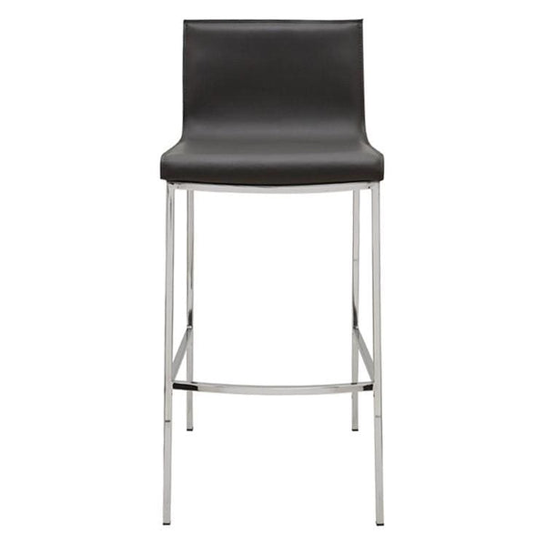 Nuevo Colter Bar Stool - Dark Grey | Alchemy Fine Home