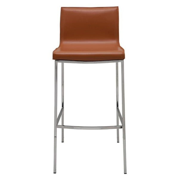 Nuevo Colter Bar Stool - Ochre | Alchemy Fine Home