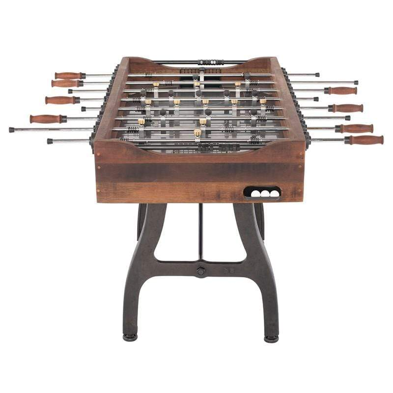 District Eight Foosball Gaming Table - Burnt Umber