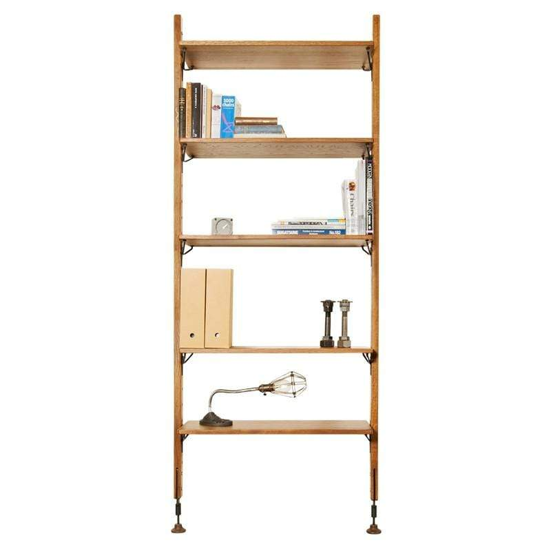 District Eight Theo Modular Shelving - Hard Fumed | Alchemy Fine Home