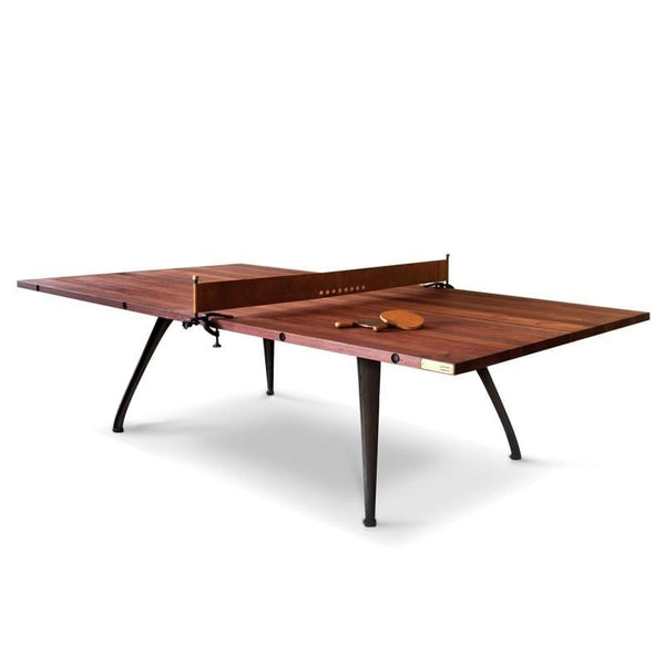 District Eight Ping Pong Table Gaming Table - Burnt Umber | Alchemy Fine Home
