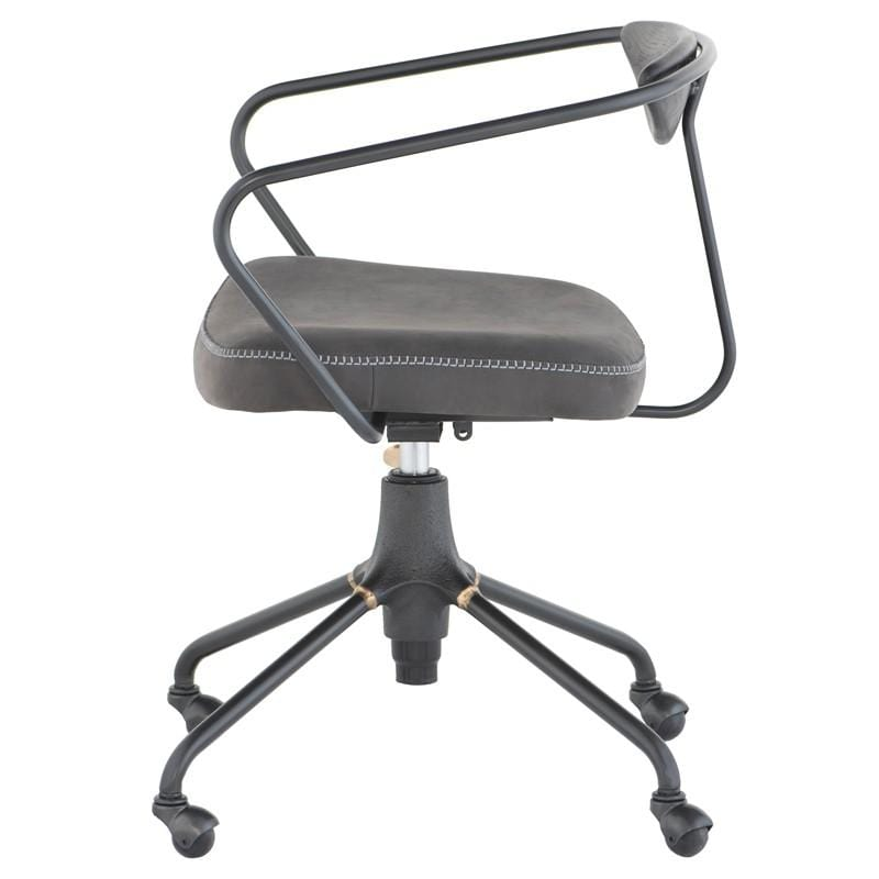 District Eight District Eight Akron Office Chair - Storm Black HGDA601