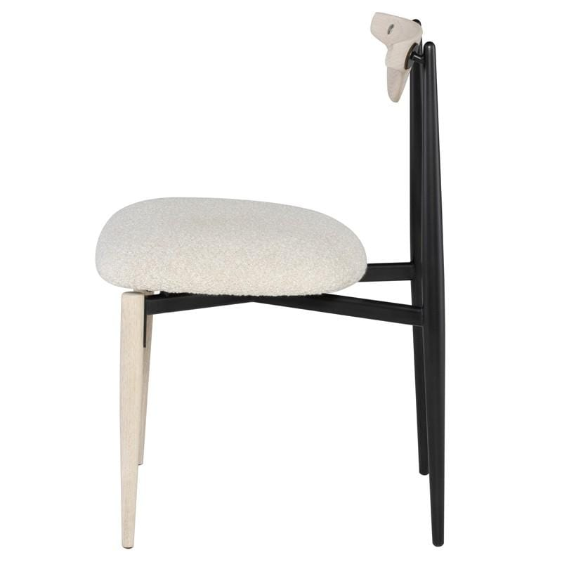 District Eight District Eight Vicuna Dining Chair - Boucle Beige