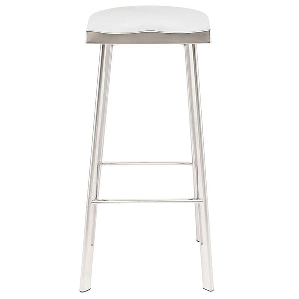Nuevo Icon Bar Stool - Silver | Alchemy Fine Home
