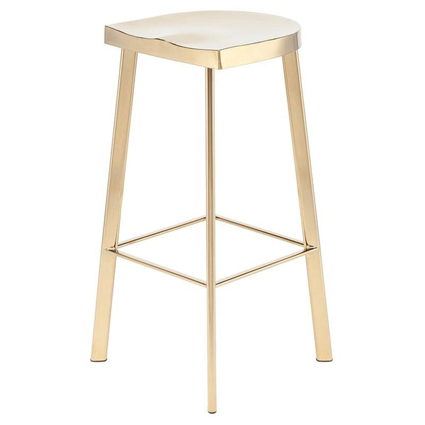 Nuevo Icon Bar Stool - Gold | Alchemy Fine Home