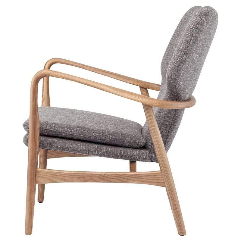 Nuevo Patrik Occasional Chair - Medium Grey | Alchemy Fine Home