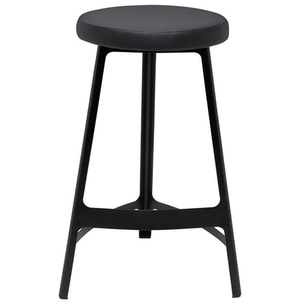 Nuevo Hyku Bar Stool - Black | Alchemy Fine Home