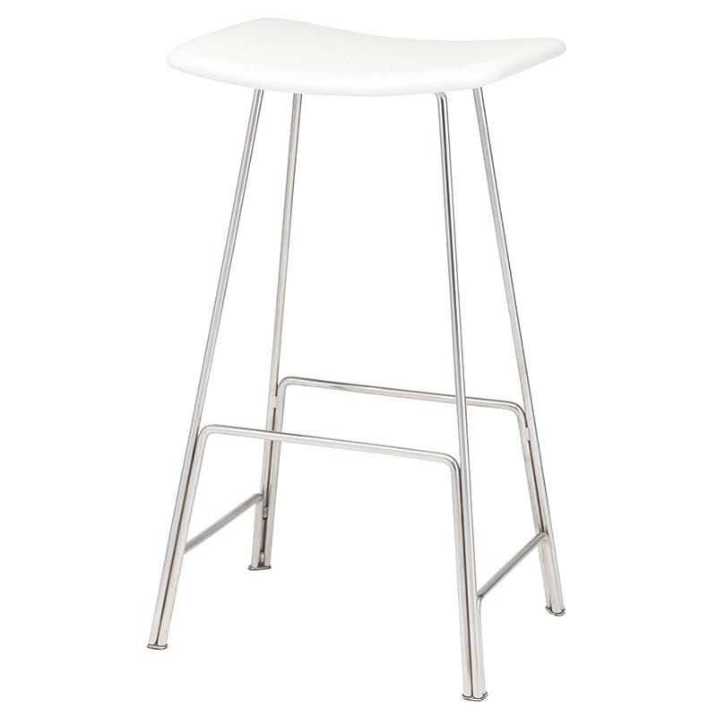 Nuevo Kirsten Counter Stool - White | Alchemy Fine Home