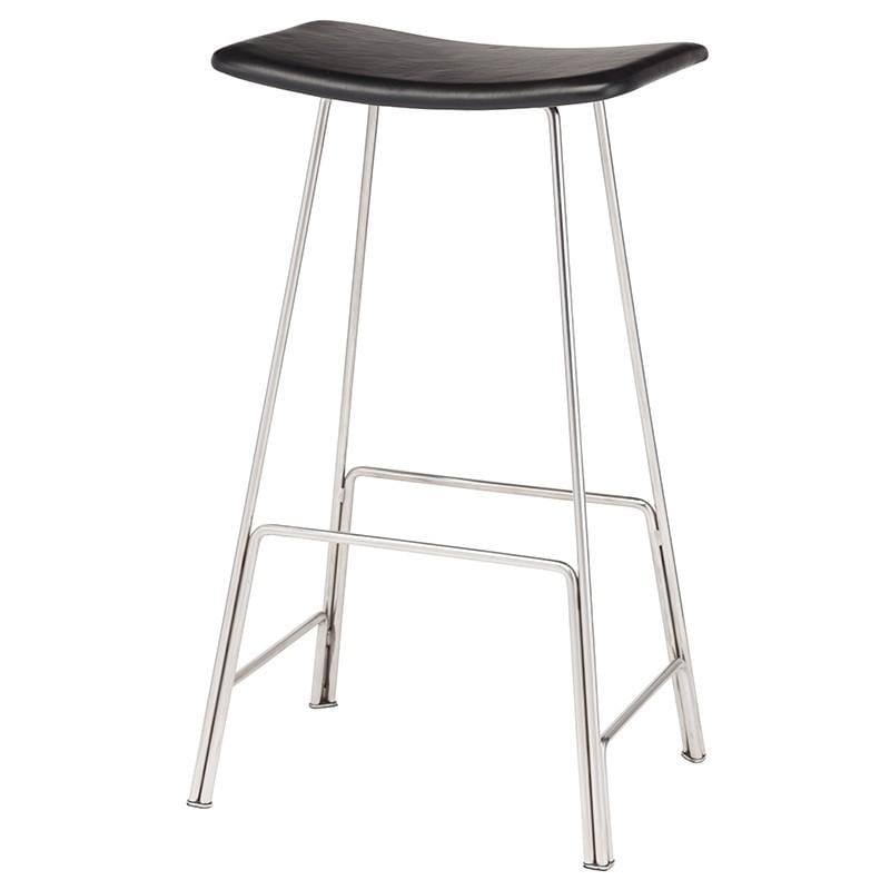 Nuevo Kirsten Counter Stool - Black | Alchemy Fine Home