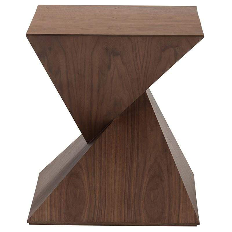 Nuevo Nuevo Giza Side Table - Walnut HGEM723