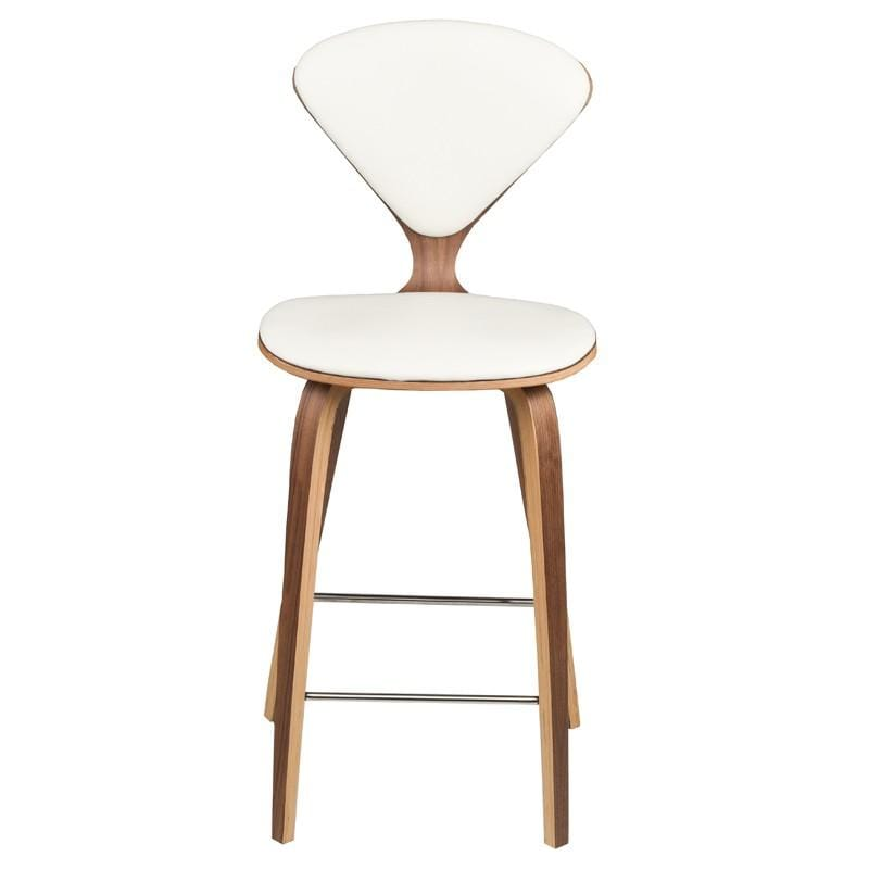 Nuevo Nuevo Satine Counter Stool - White HGEM788