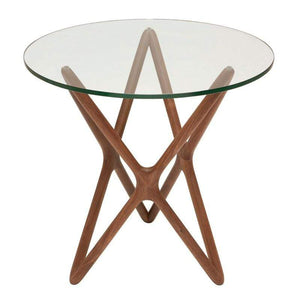 Nuevo Star Side Table - Glass | Alchemy Fine Home