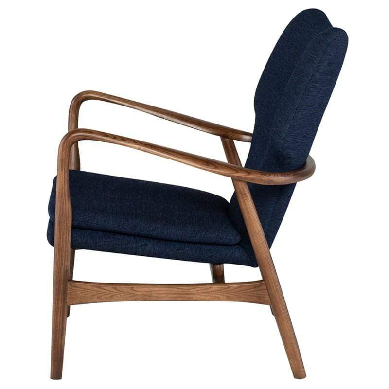 Nuevo Patrik Occasional Chair - True Blue | Alchemy Fine Home
