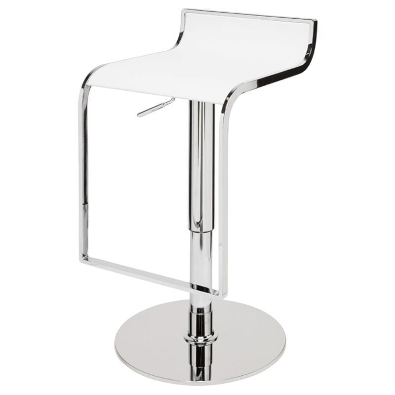 Nuevo Nuevo Alexander Adjustable Stool - White HGGA182