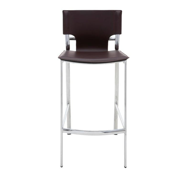 Nuevo Lisbon Counter Stool - Brown | Alchemy Fine Home