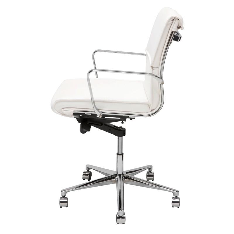 Nuevo Lucia Office Chair - White | Alchemy Fine Home