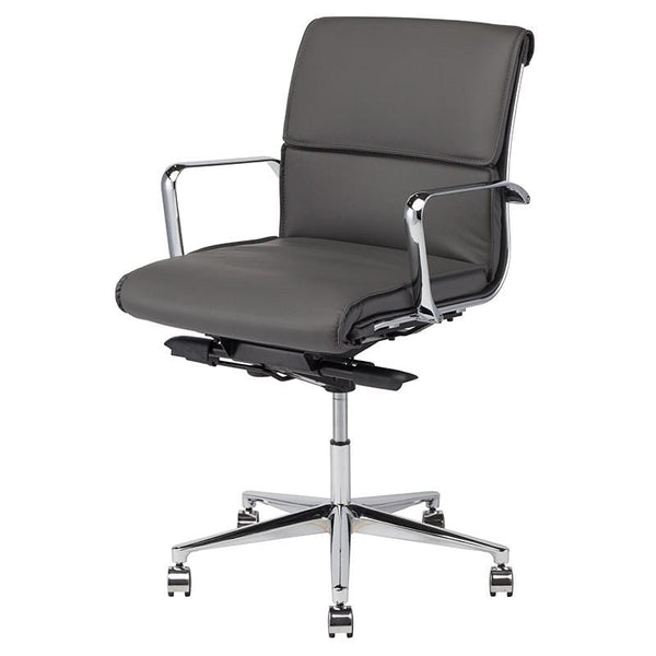 Nuevo Lucia Office Chair - Grey | Alchemy Fine Home