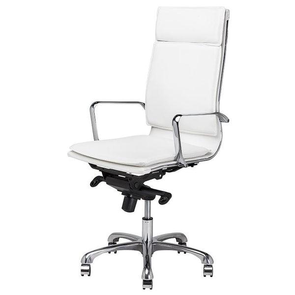 Nuevo Carlo Office Chair - White | Alchemy Fine Home