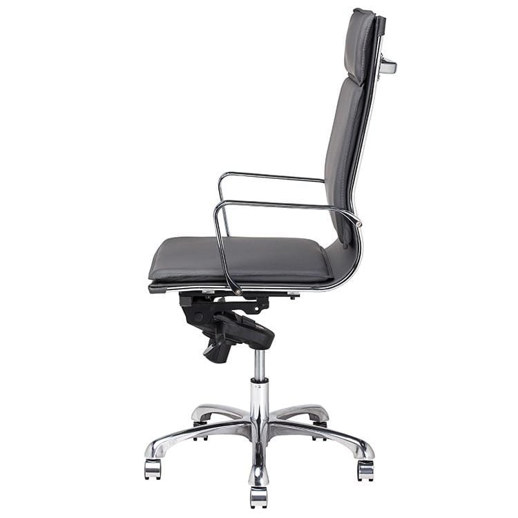 Nuevo Carlo Office Chair - Grey | Alchemy Fine Home