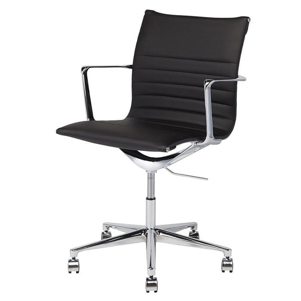 Nuevo Antonio Office Chair - Black | Alchemy Fine Home