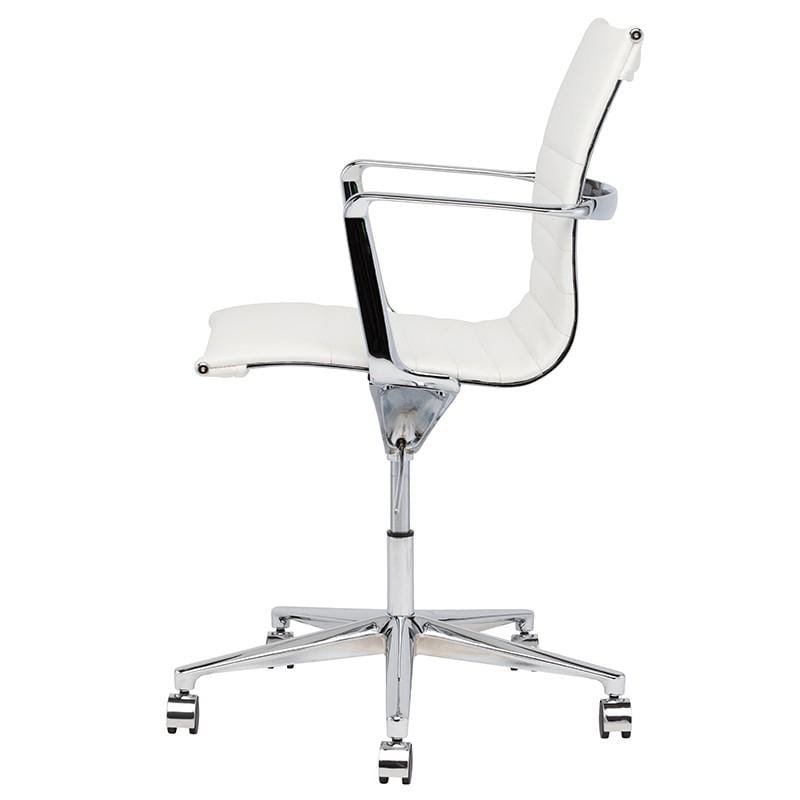 Nuevo Antonio Office Chair - White | Alchemy Fine Home