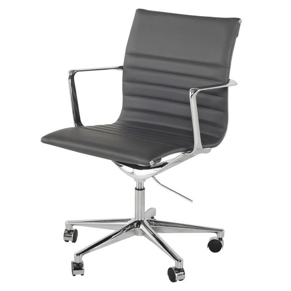 Nuevo Antonio Office Chair - Grey | Alchemy Fine Home